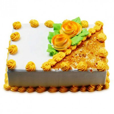 Rectangular Butterscotch Treat