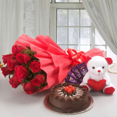 Flower Cake Hamper