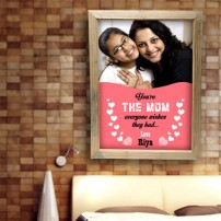 Best Mom Personalized Frame